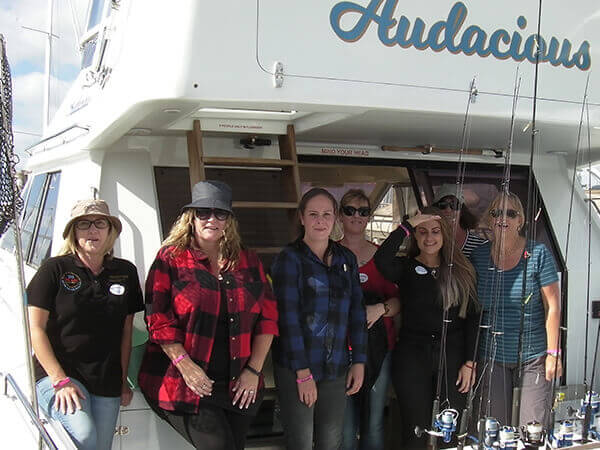 Auckland Fishing Charter Clients