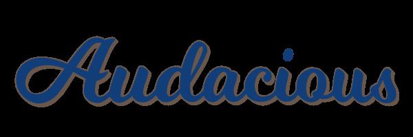 Audacious Boat Logo